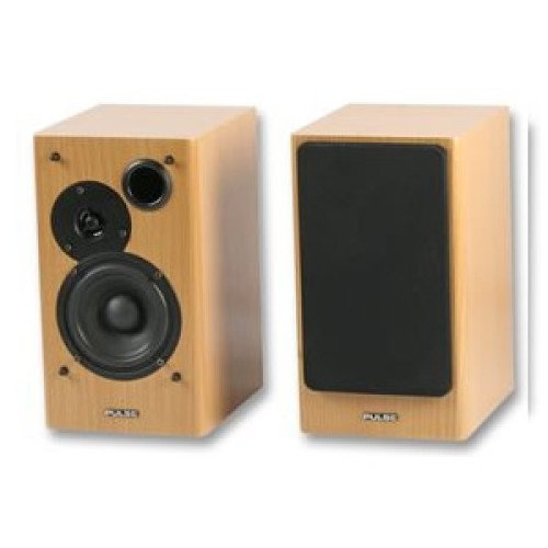 Budget Studio Active Speakers - Beech